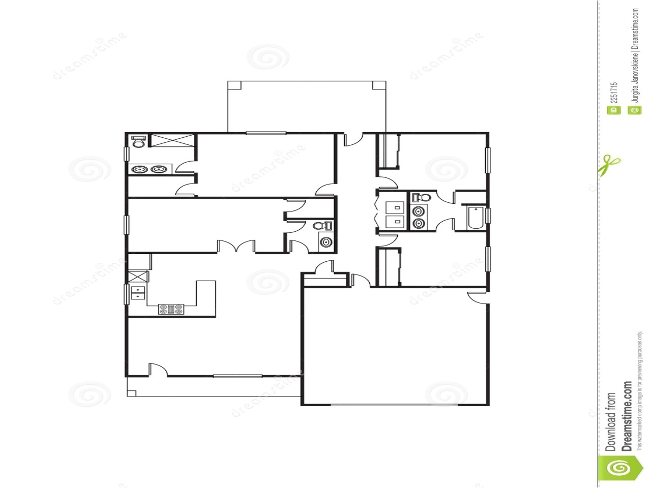 2978a7698c574d6f single family house plans free single floor house plans large rooms