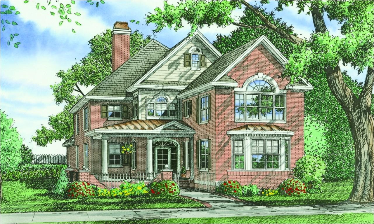 91b7a5d84e5e2257 brick home house plans one story brick homes