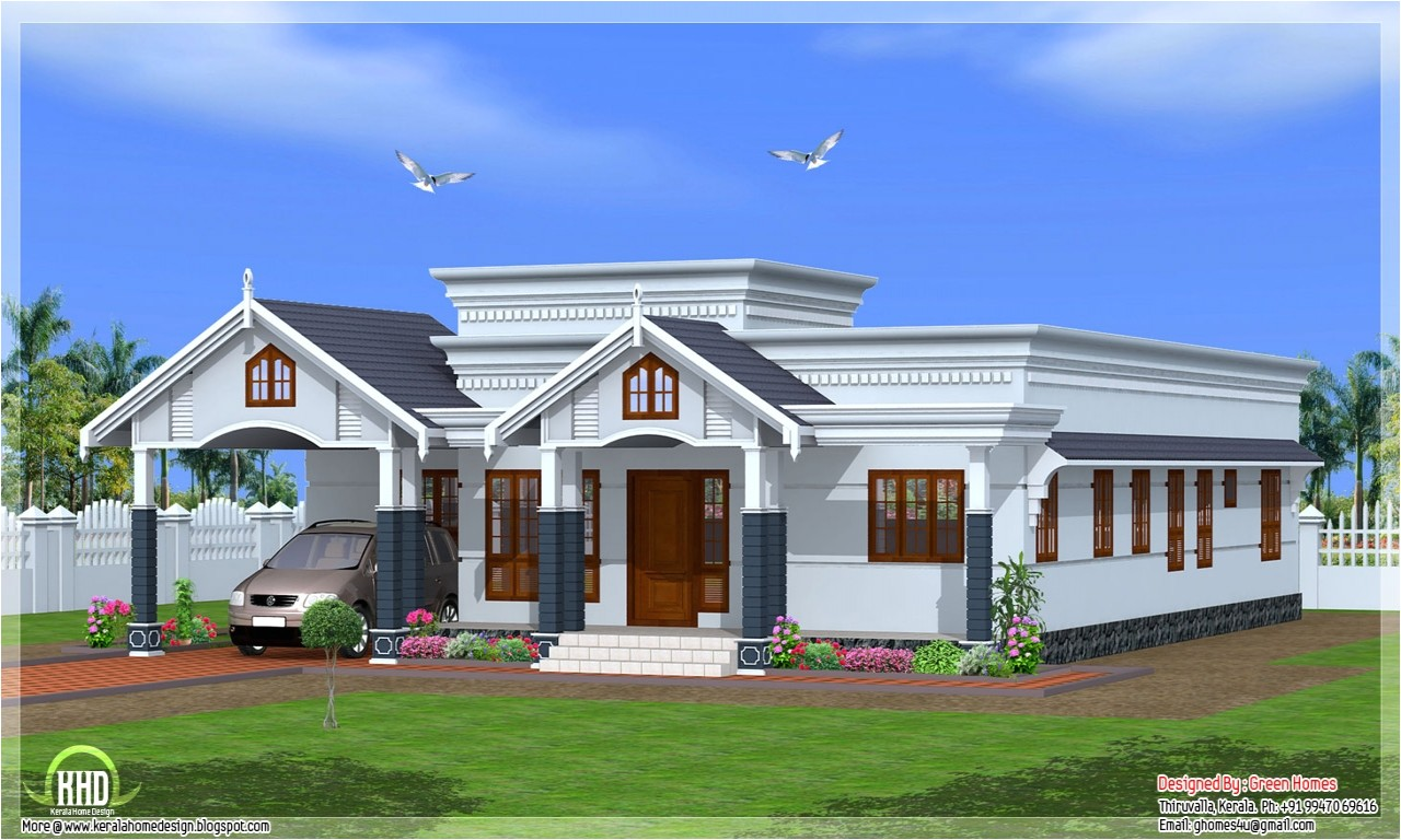 1b998d50b6d190a6 kerala single story house plans single story brick house