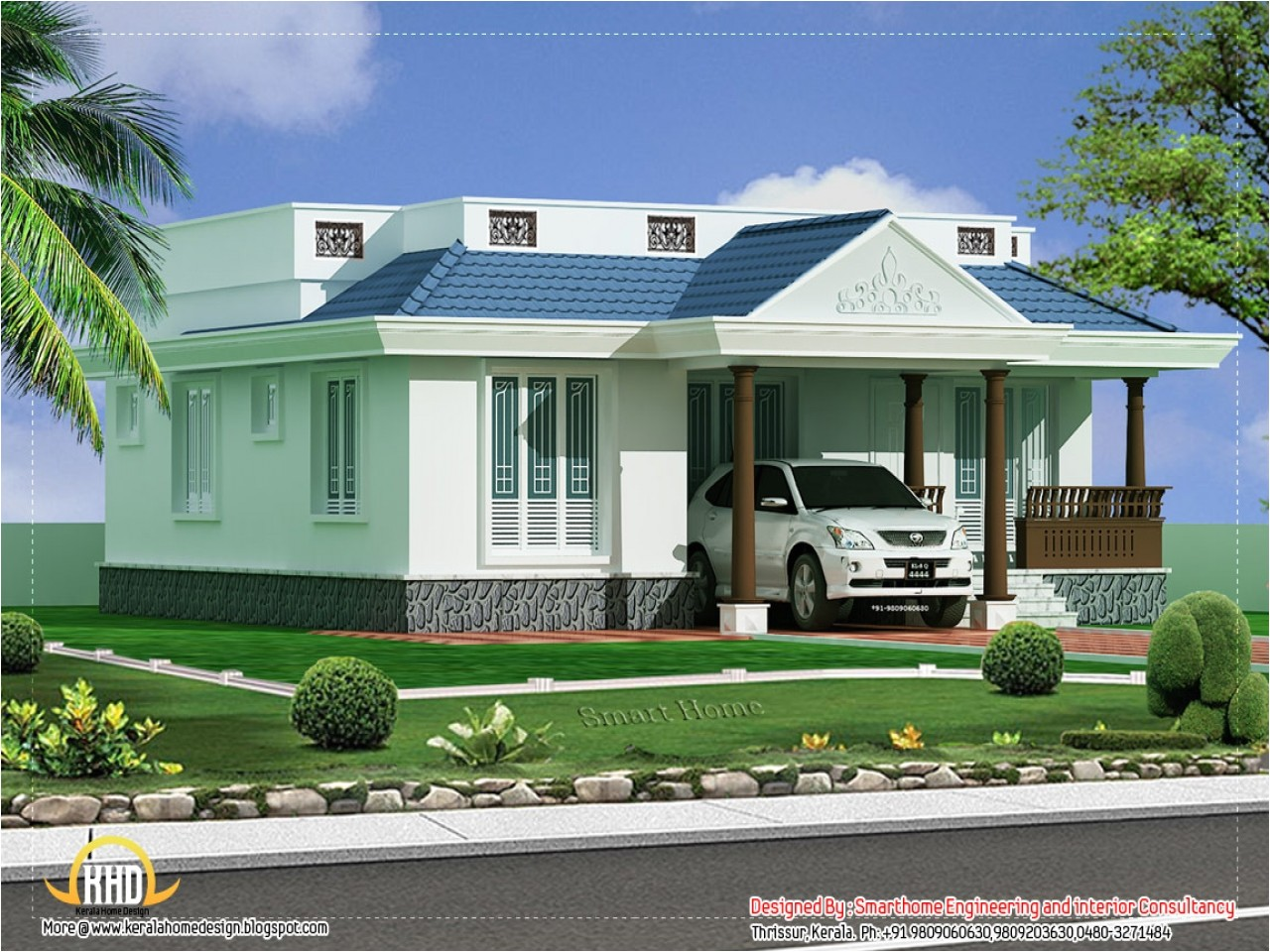 f729c030a281eab1 single story brick house kerala single story house plans