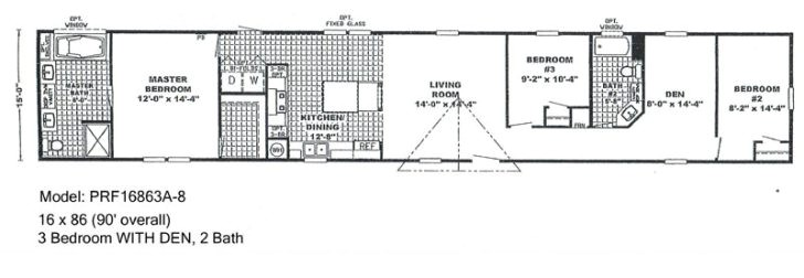 single wide mobile home floor plans and pictures
