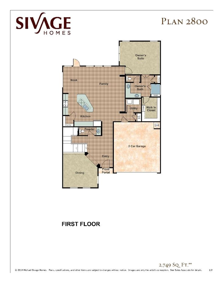 sivage homes floor plans