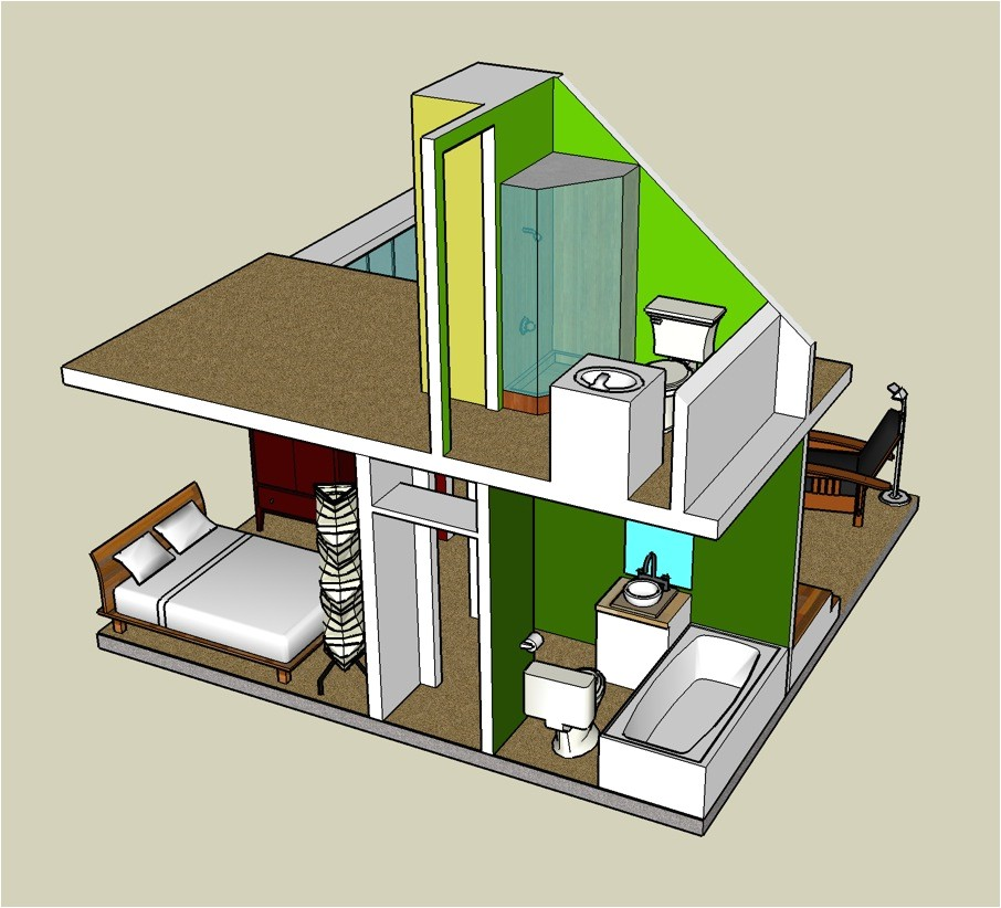 3d tiny house designs