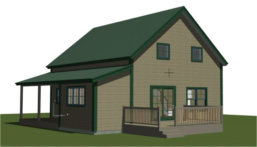small barn house plans the mont calm