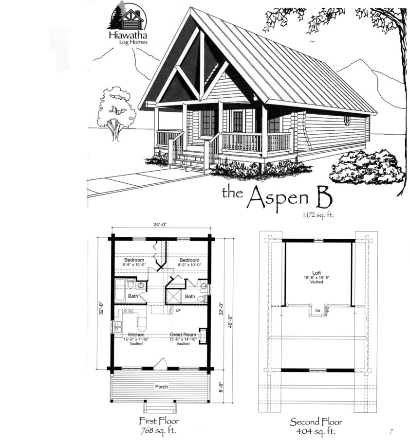 Small Cottage Home Floor Plans Small Cabin Floor Plans Features Of Small Cabin Floor