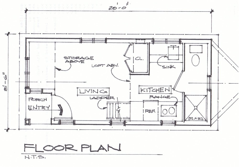 small cottage floor plans