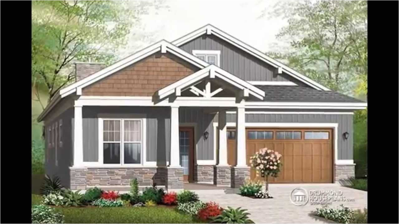 small craftsman style house plans with photos