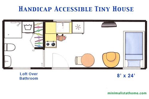 building a handicap accessible tiny house