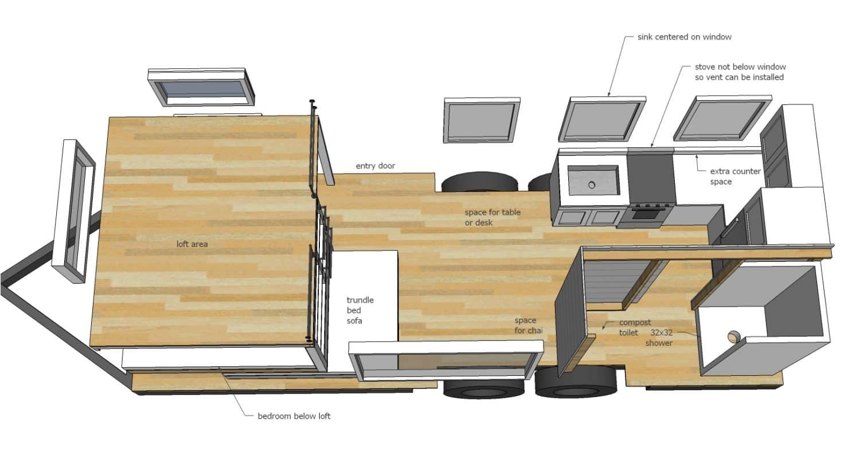 Small Home Building Plans Construire Sa Propre Tiny House Plans Gratuits Et