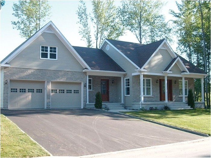small cottage house plans with attached garage dailycombat in small home plans with attached garage