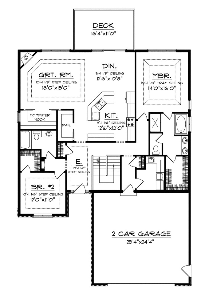 superb house plans with big kitchens 4 house plans with large kitchens