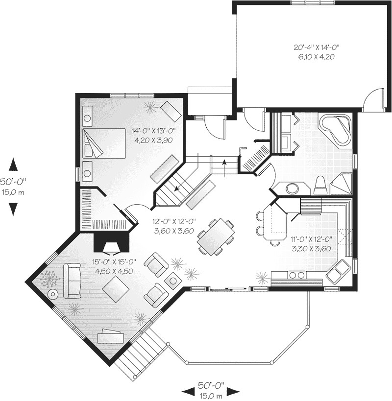 floor plans for small lake house