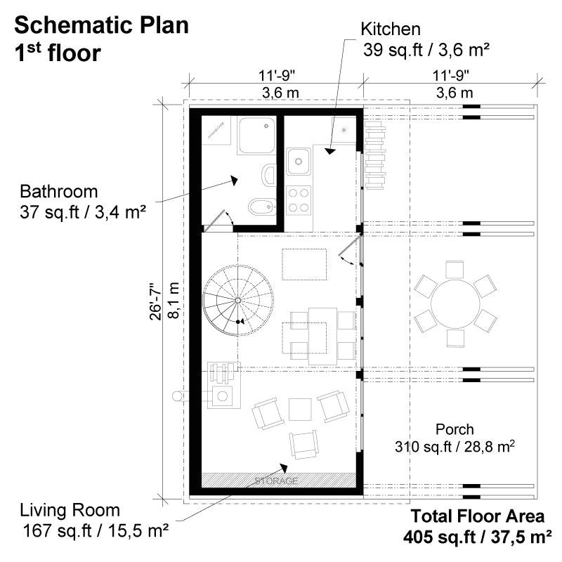 small lake house plans
