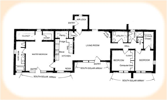 solar adobe house plan 1870