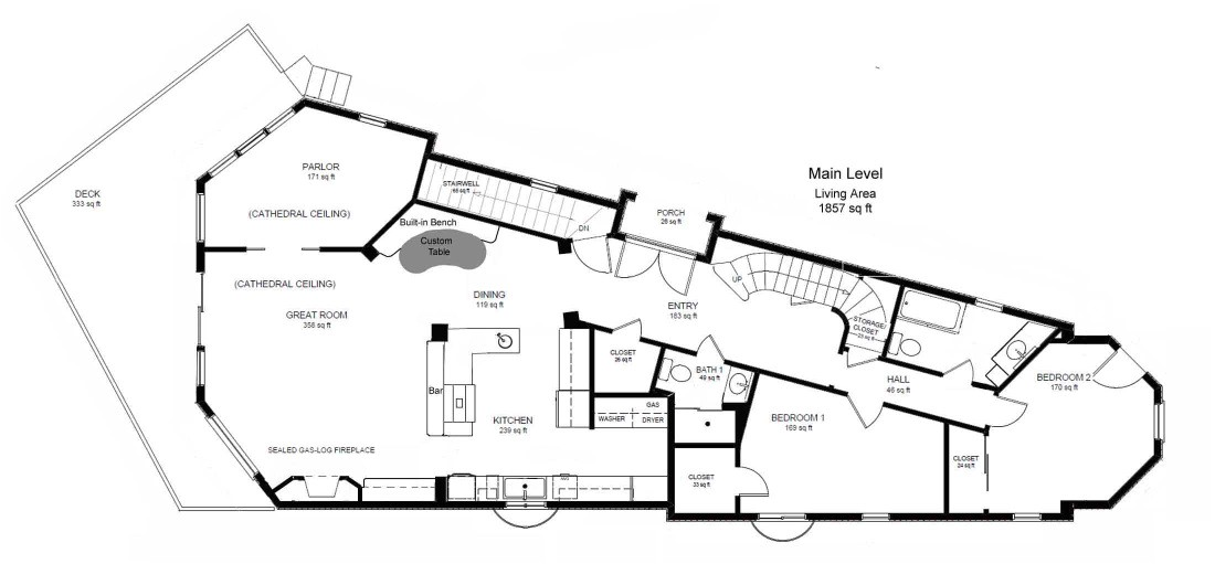 small villa house plans