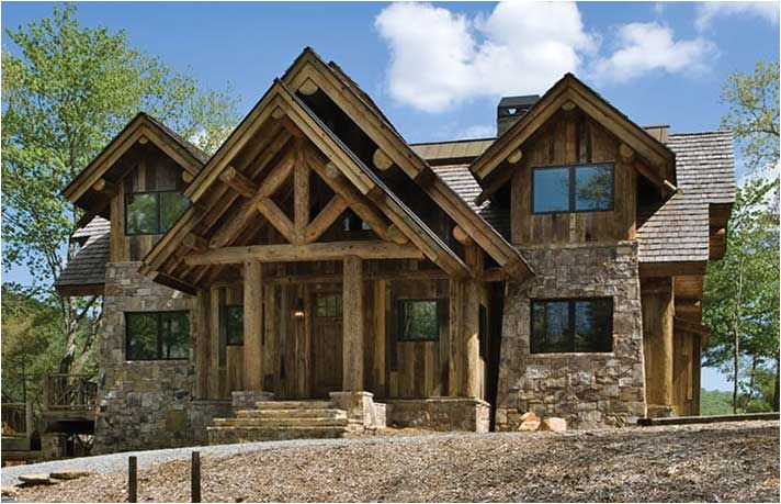 Small Post and Beam Home Plans House Plans for Small Post and Beam Homes and Cottages