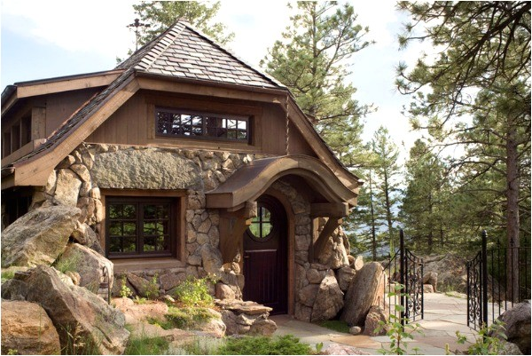enchanted a small stone guest cottage in colorado