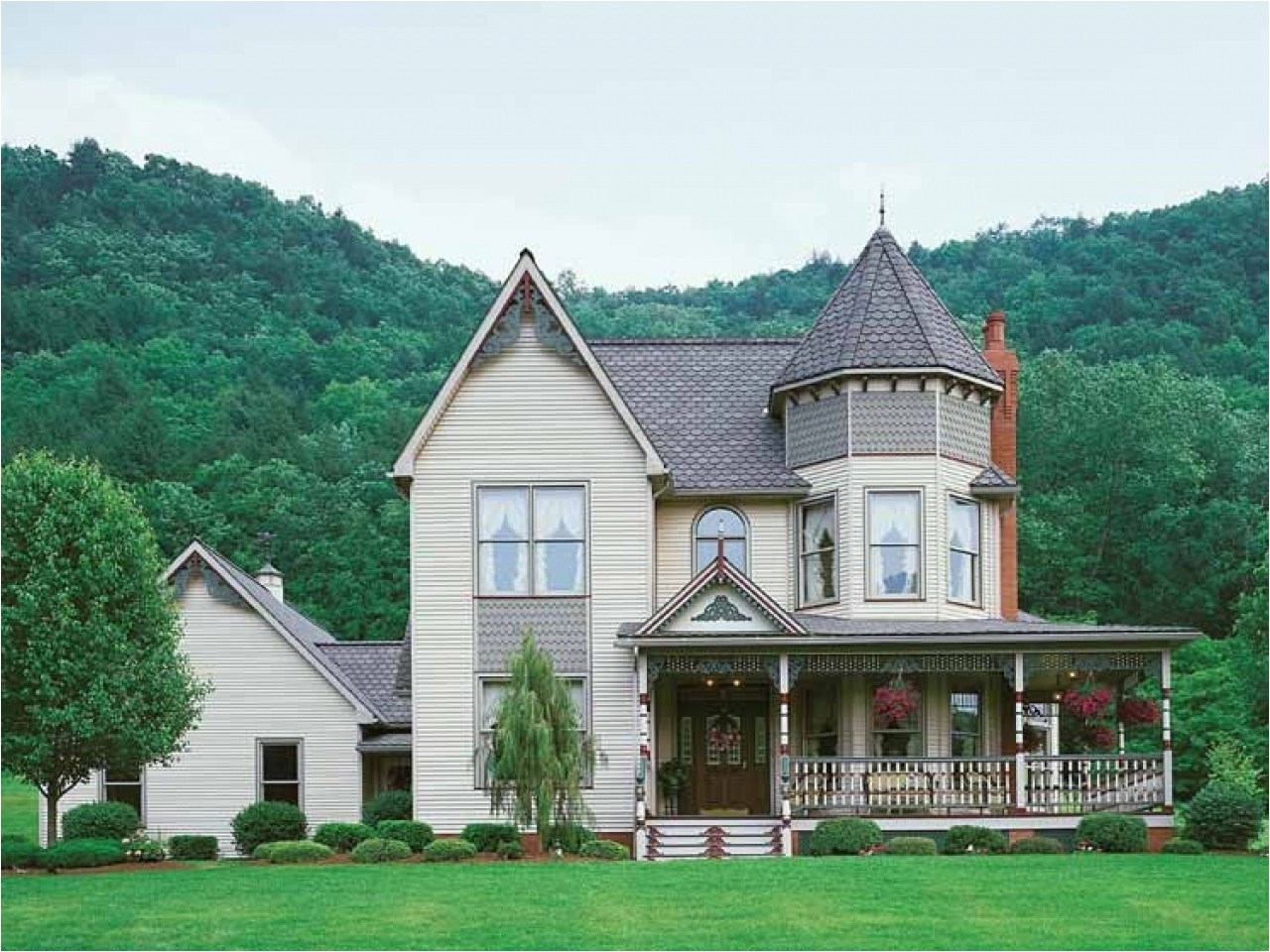 modern victorian style house plans
