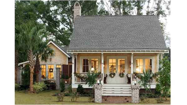 Southern Living Home Plans Cottage House Plan Port Royal Coastal Cottage Sl1414 southern