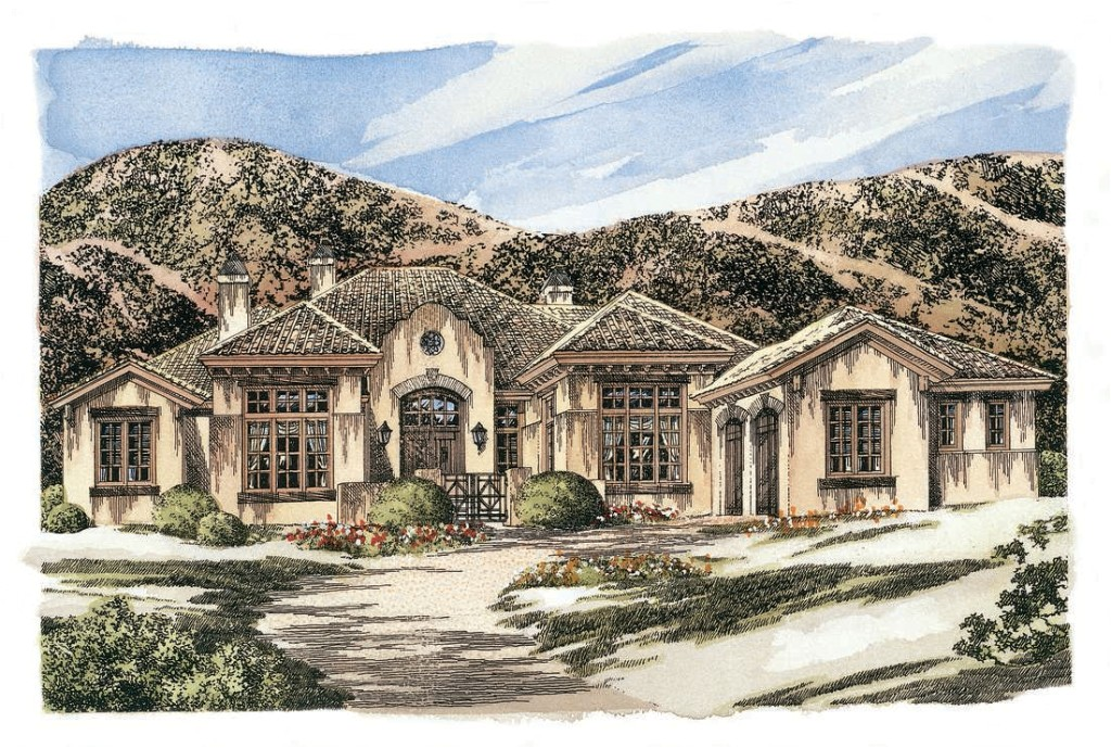 dream house plans southwestern home design