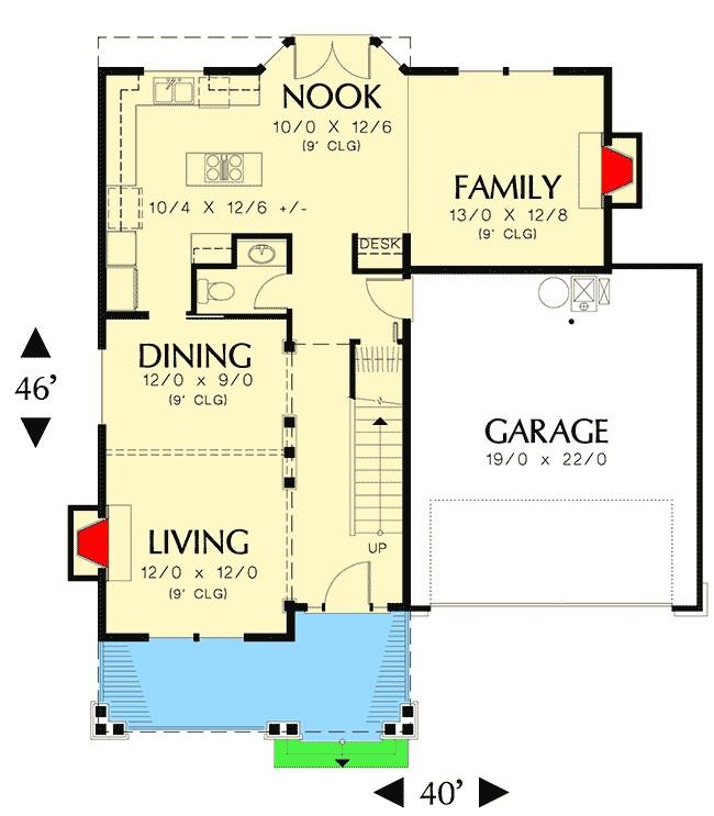 space efficient house plans