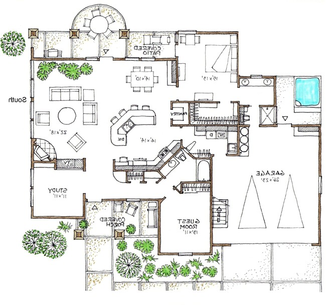 Space Efficient Home Plans Space Saving House Plans Beautiful Home Plan that is Space