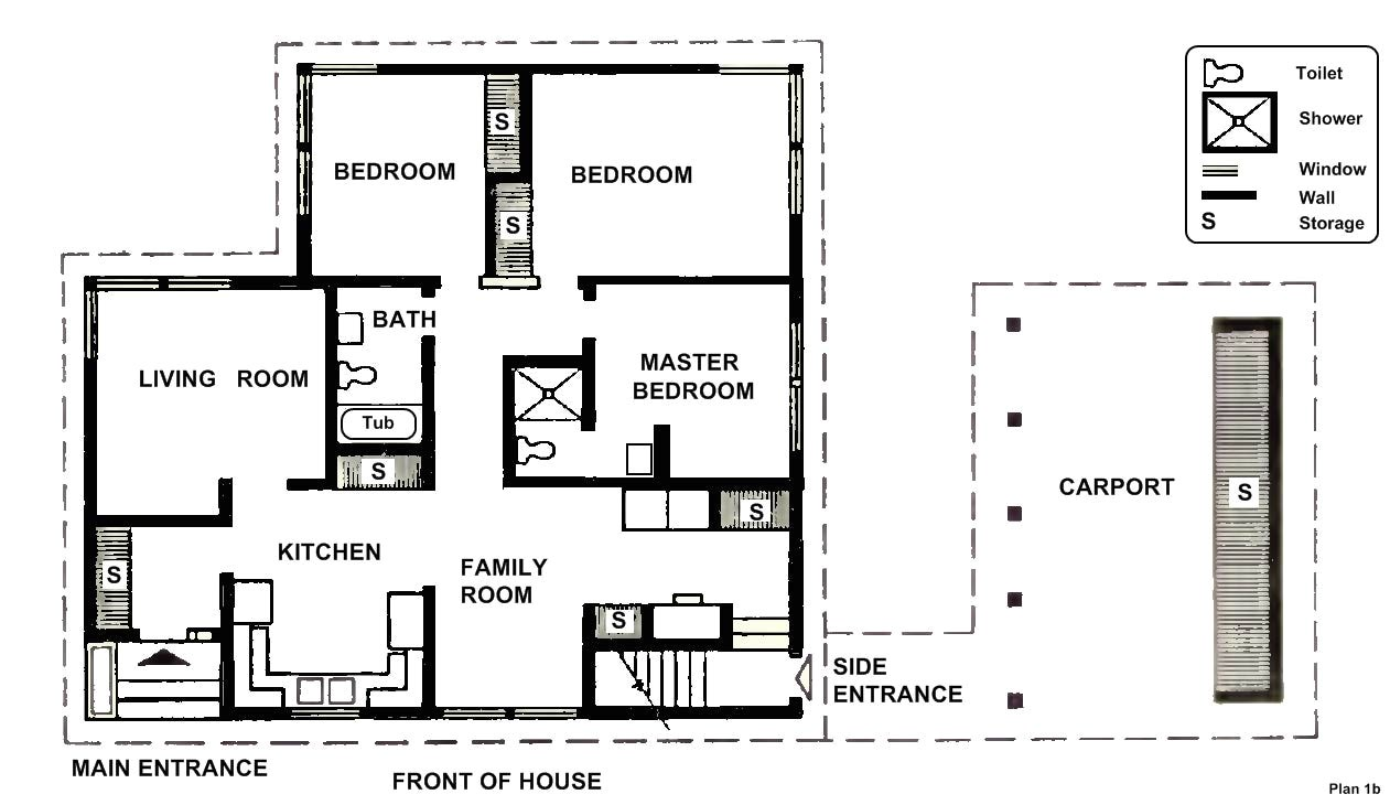 two bedroom house plans spacious car port two bedrooms one master bedroom