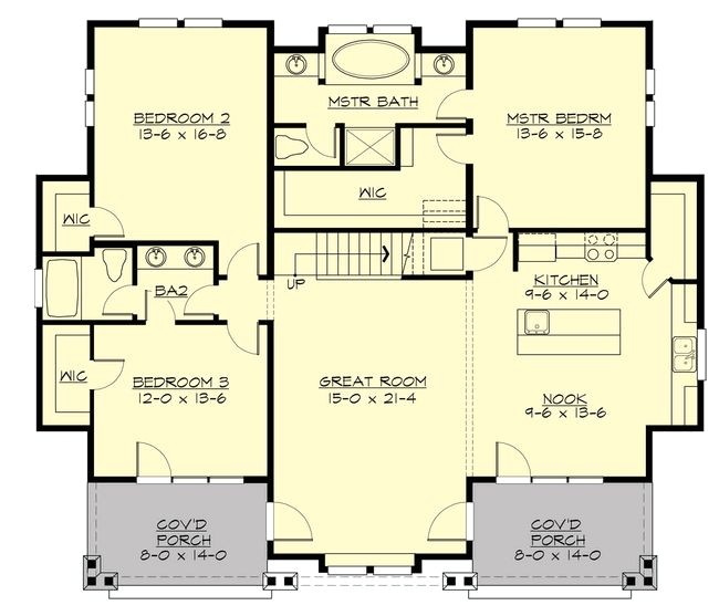 house plans with formal living and dining rooms