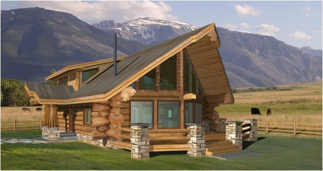 log home and log cabin floor plans between 1500 3000 square feet
