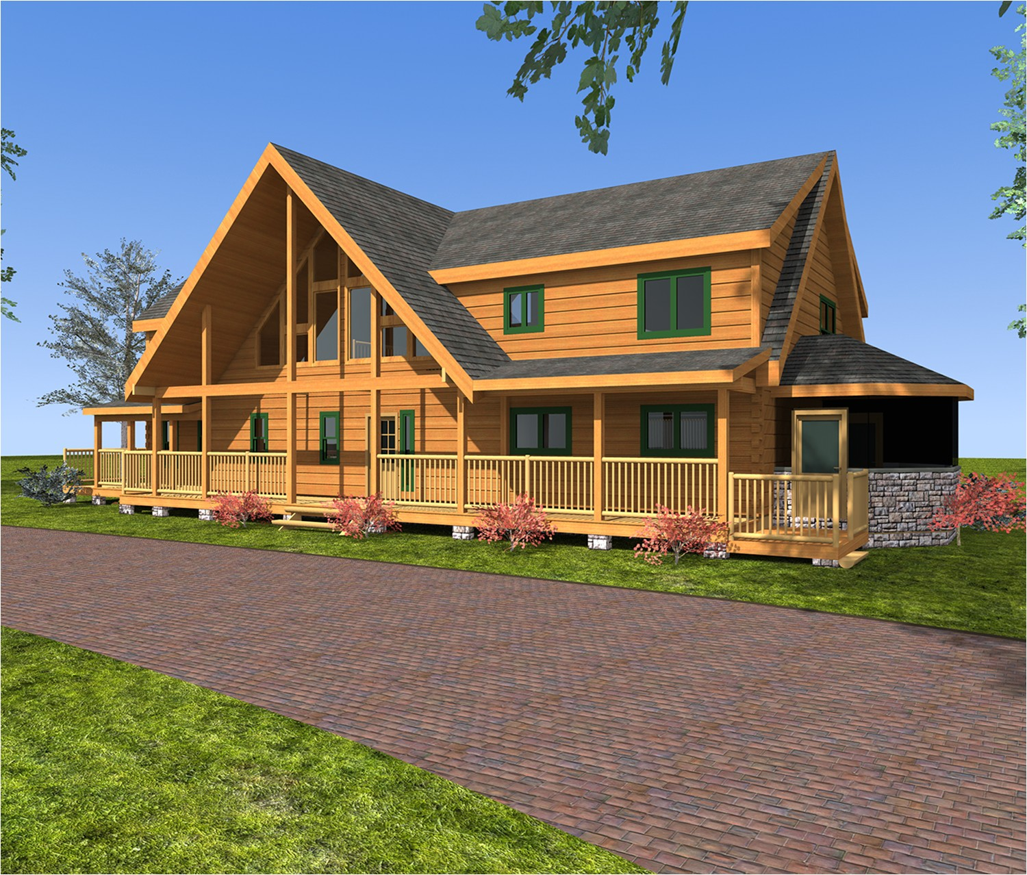 log home floor plans 3000 4000 sq ft