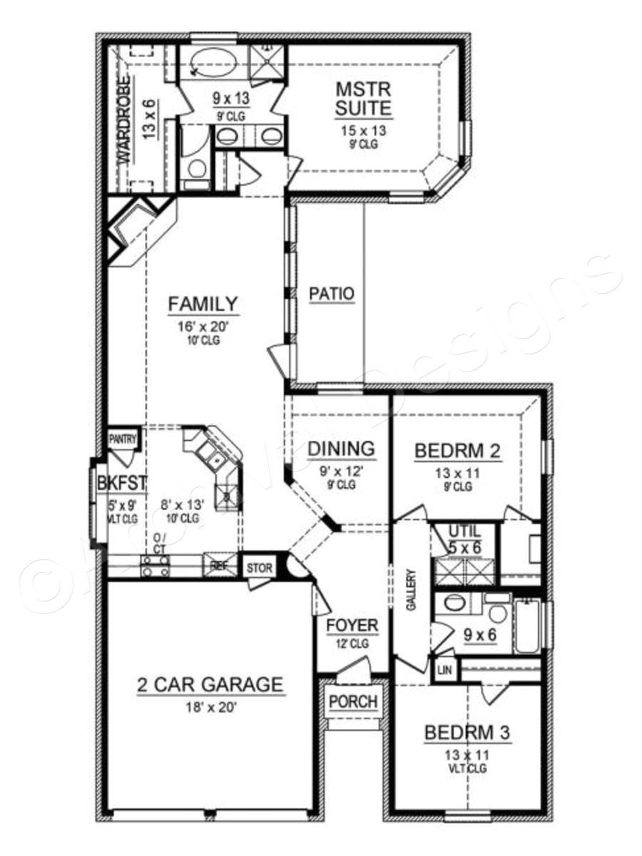 stevens park house plan