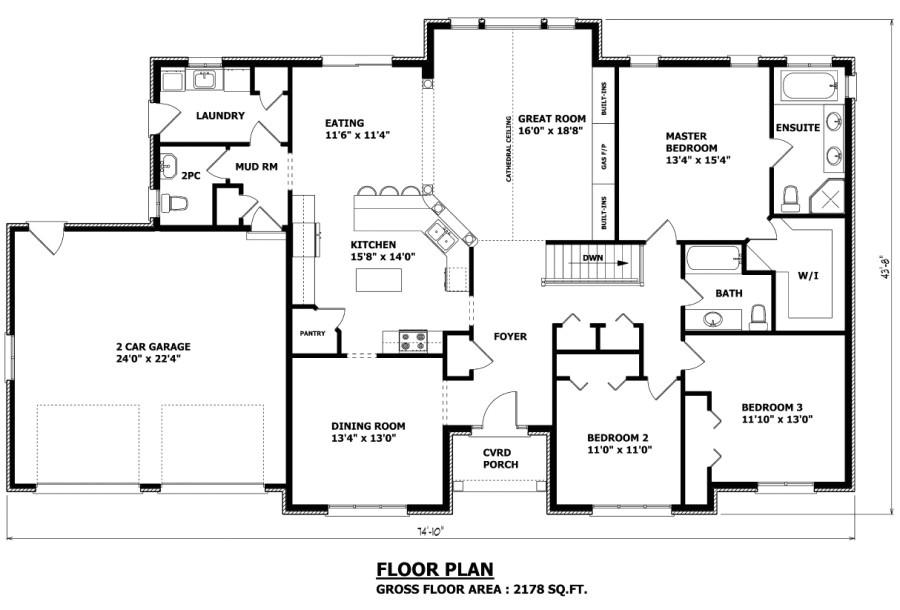 the orillia bungalow house plan 2