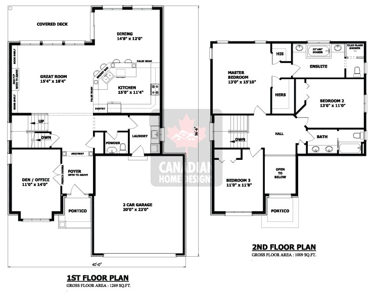 the ottawa two storey house plan