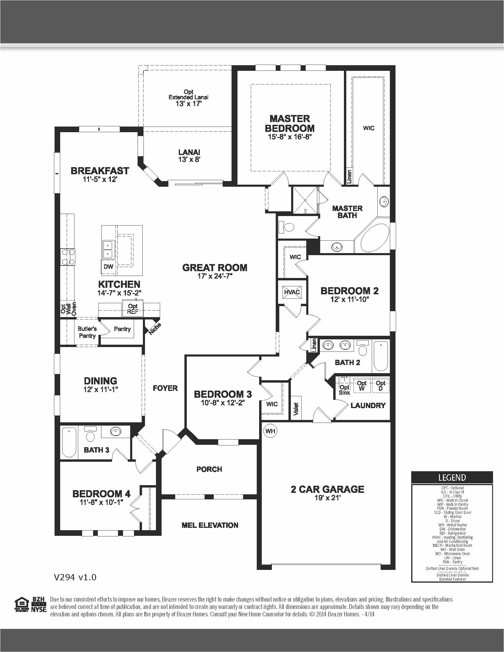 stock house plans nice ashwood beazer homes singlestory 4bedrooms 3bathrooms