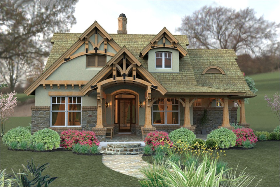 storybook cottage style