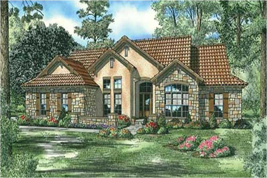 tuscan stucco house plans
