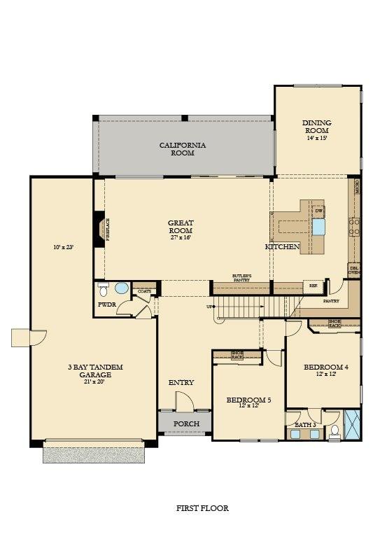 residence 4 plan 4041