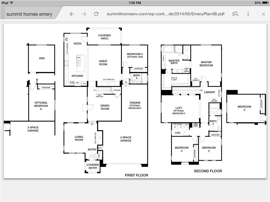 wonderful summit homes floor plans 2