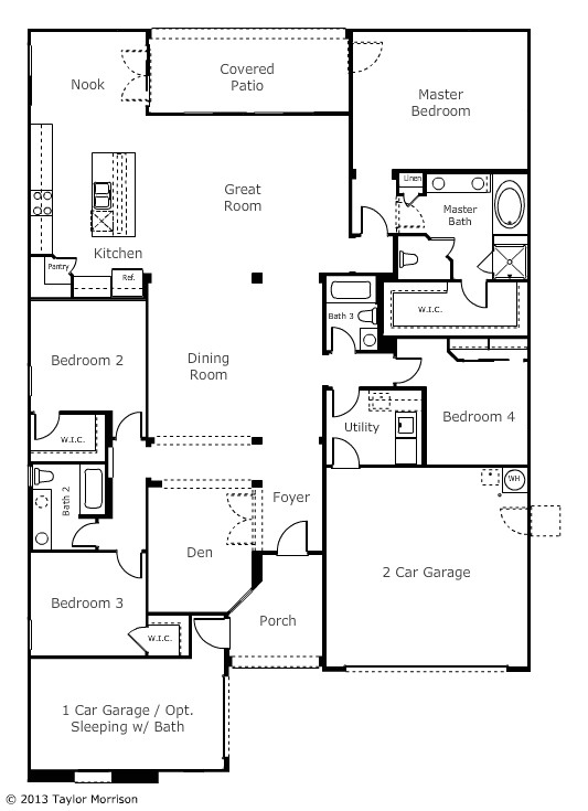 Taylor Homes Floor Plans Taylor Morrison Homes Floor Plans