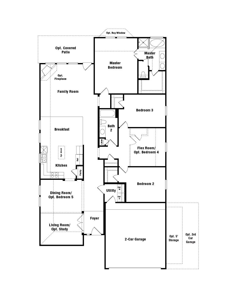 taylor morrison homes laurel floor plan