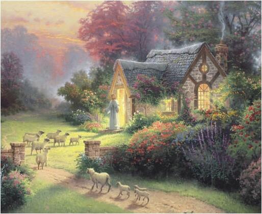 thomas kinkade cottage house plans