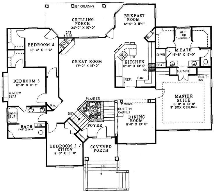split level floor plans
