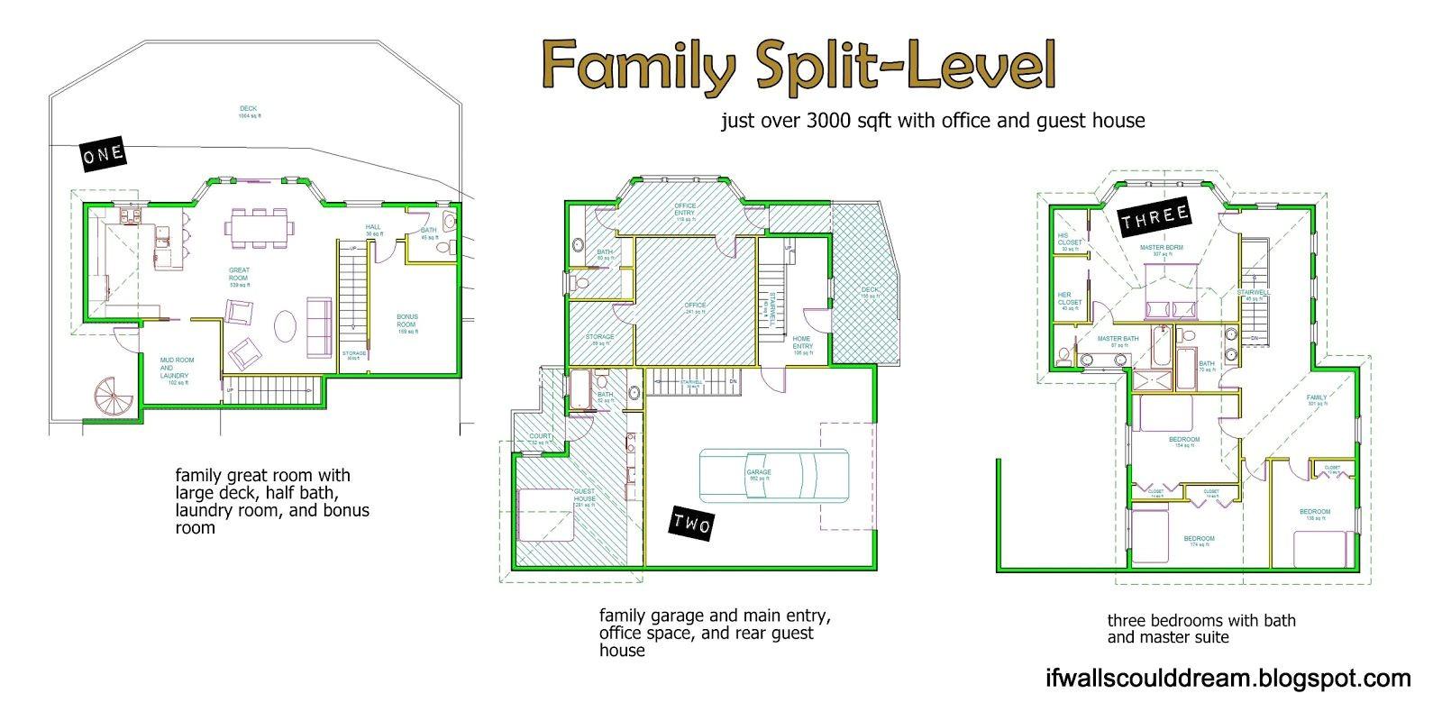 Three Level Split House Plans 3 Level Split House Plans 2018 House Plans