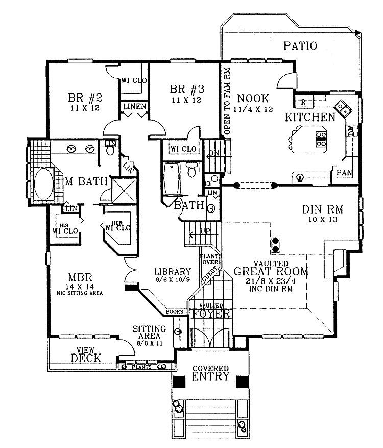 three level split house plans