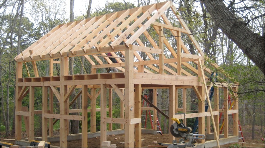 lovely timber frame garage plans 9 post and beam barn plans