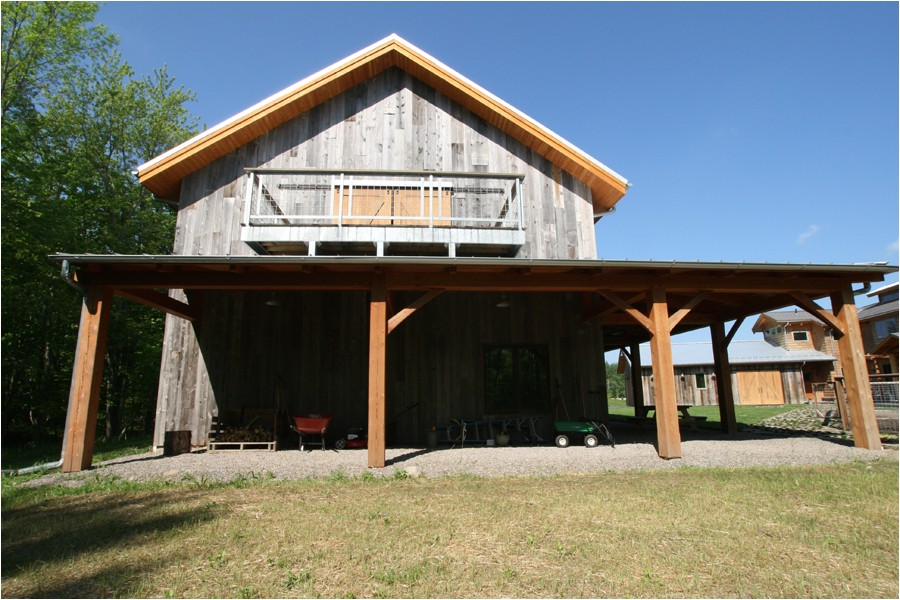 timber frame barn house plans