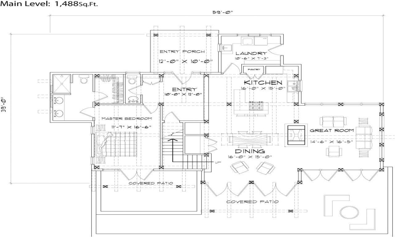 timber house floor plans