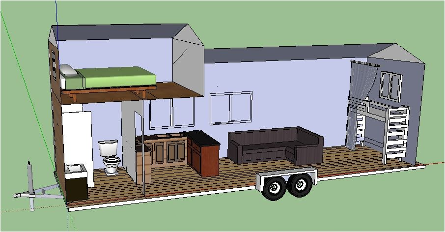 tiny house trailer plans