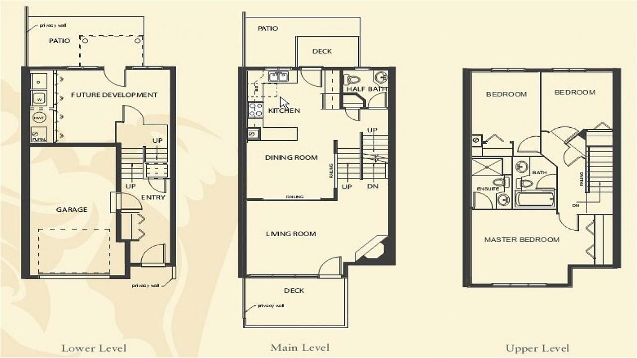 3efff98c5d437f68 4 bedroom apartment floor plans townhome building floor plan