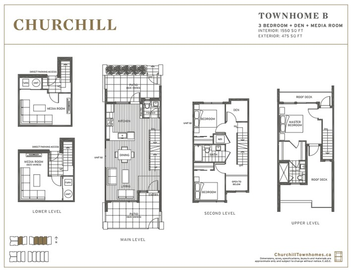 churchill townhomes 3 4 bedroom townhomes in south vancouver floor plans and pricing available